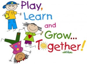 play learn together clip art
