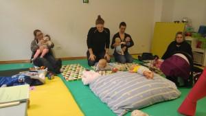baby handling radionica